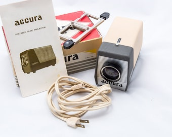 Portable Accura Slide Projector
