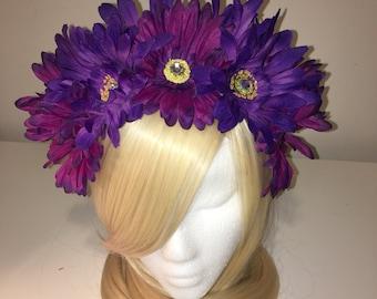 Gerbera Daisy Headband