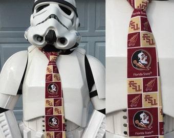 Florida State University Novelty Necktie - FSU Seminoles Tie