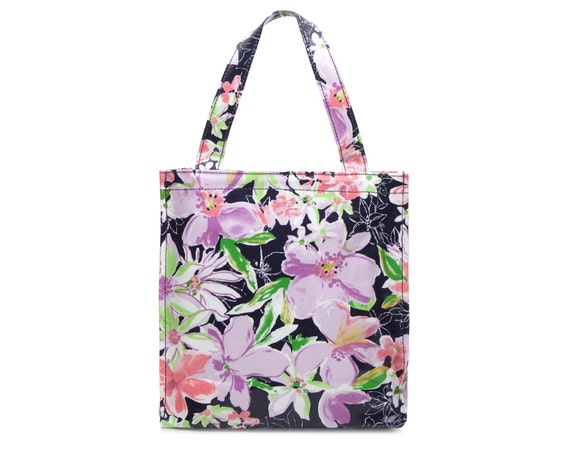 Oilcloth Toiletry Bag Zip Lunch Bag Oil Cloth Tote Bag