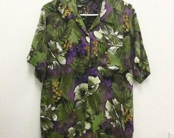 1980s S/M Hawaiian vintage shirt
