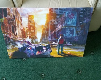 Back to the Future Canvas