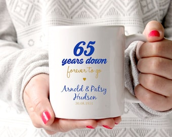 65th Wedding Anniversary Gift For Parents : 65th anniversary gift 65th wedding anniversary 65th anniversary 65 ...