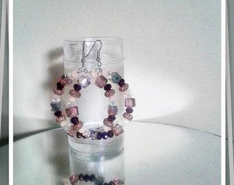 Crystal Earrings, Women Earrings, Hoop Earrings, Basketball Wives, Multi Color Earrings, Fleek Earrings, For Her