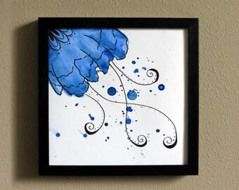 Water Flower - Blue