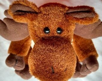 Large Plush Moose in Vest