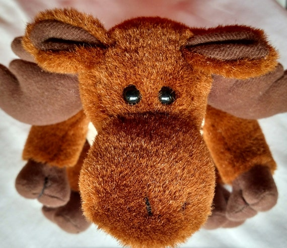 Large Plush Moose In Vest From CommonGracesIdaho On Etsy