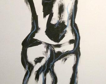 Nude sketch 5