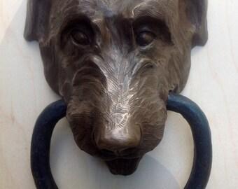 Irish Wolfhound Doorknocker