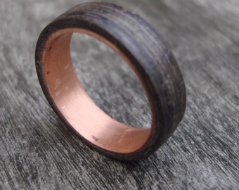 Bentwood ring copper Dark Oak