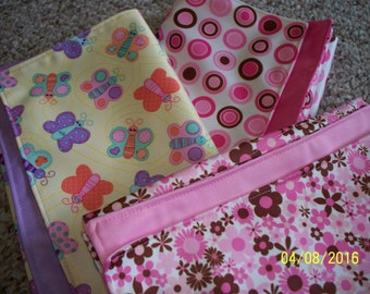 Waterproof Changing Pad; Girls