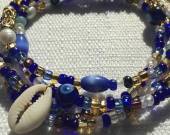 Cool Waters waist beads