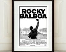 Rocky Balboa Poster Print - Vintage Film Poster, Movie Prints, Poster Film, Vintage Movie Posters, Original Vintage Posters Print.