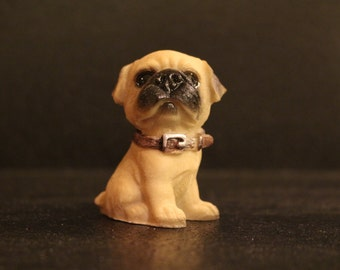 Mini Puppy Figurine #4 - 2""