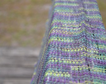 HandKnit Cotton Wrap