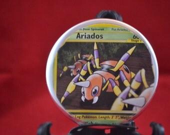 Ariados Pokeman Button