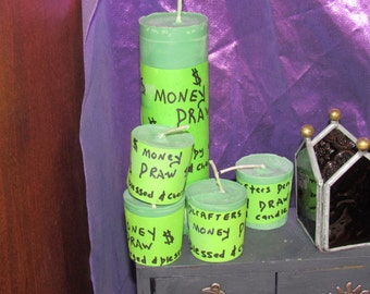 Wildcrafters Den Money Draw Candle