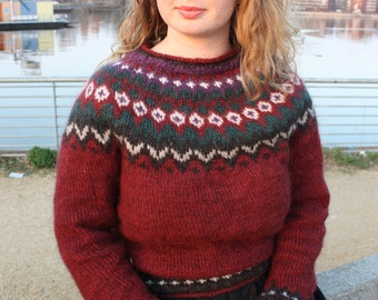 Icelandic sweater / Islandpullover
