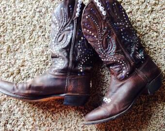 Custom Decorated Cowboy Boots!