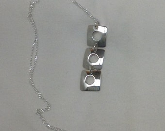 Handmade silver925 necklace and silver925 chain