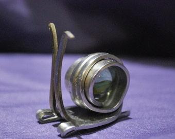 Silverware Snail (#24-4)