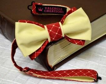 Pre-Tied Bow TieMen's ties accessories  New HANDMADE Brand Vintage Tuxedo Men's BOW TIE