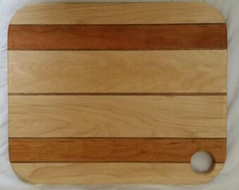 """Maple/Walnut/Cherry Cutting Board 12""""x15"""""""