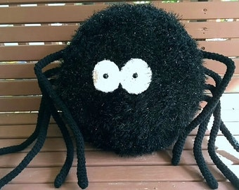 Crochet Spider Pillow Pattern