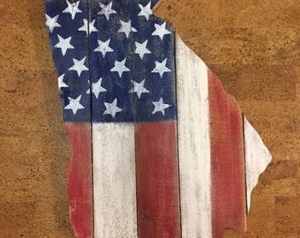 Georgia American Flag, Georgia, America
