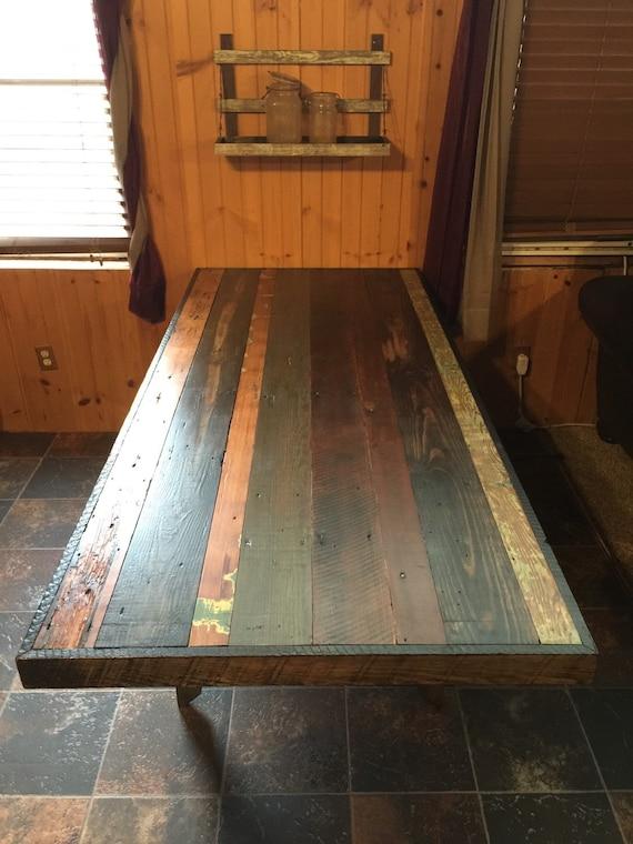 Reclaimed Wood Farmhouse Dining Table By CanadyCustomWoodWork