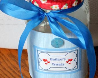 Man's/Woman's Best Friend Treat Jar