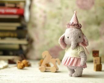 Teddy Elephant Stuffed Animal soft toy Stuffed Animal made to order