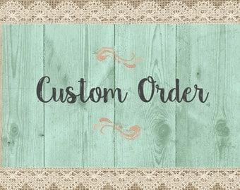 Personalized Burlap Print - Custom Burlap Print - Custom Burlap Signs - Custom Family Name Burlap Signs - Custom Personalized Burlap Signs