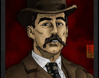 H. H. Holmes is Card Number 33 from the New Serial Killer Trading Cards