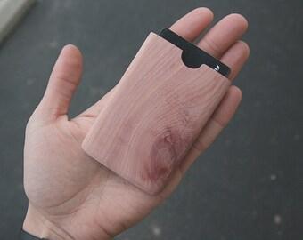 Wooden Gift Card Holder (Aromatic Cedar)