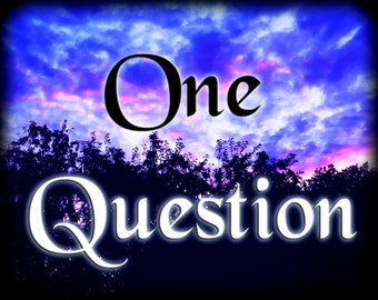 Same Day Psychic Reading - One Question - Lenormand Reading - 5 card psychic reading spread