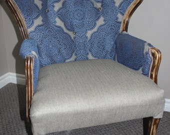 Up cycled lounge chair