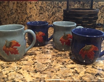 Fall Leaf Mugs