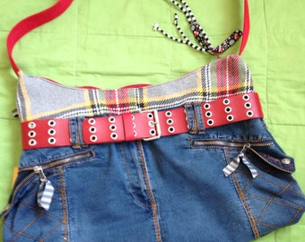 Pocket punky, upcycling