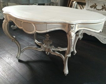 Table pedestal table Napoleon III patina