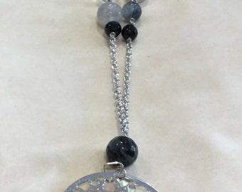 Gemstone natural necklace