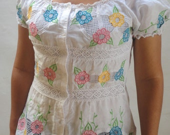 Embroidered Blouse to machine