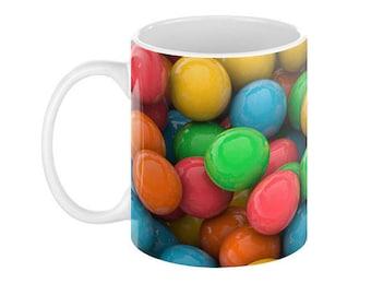 COLOR OF CANDIES Ceramic Coffee Mug - 110z.
