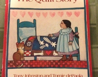 The Quilt Story by Tony Johnston and Tomie dePaola first edison(Vintage) children's book