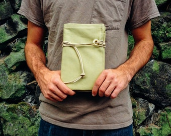 The Guide - Duck Cloth Canvas Journal Khaki