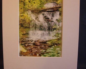 Digital Painting Wagner Falls