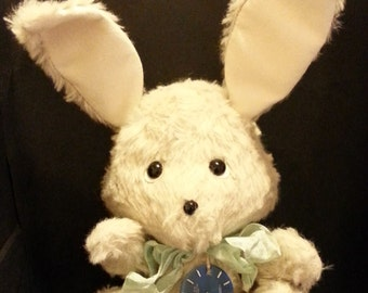 "OOAK Teddy Rabbit time ""Rolex"""