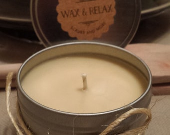 GINGERBREAD 100% All Natural Soy Candle 4 oz