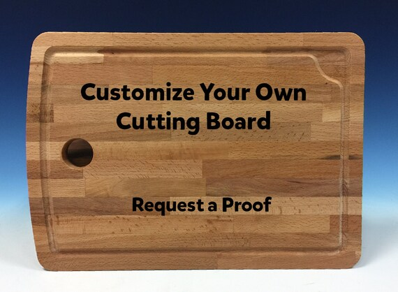 Create your own cutting board personalized gift by hbengraved for Make your own chopping board