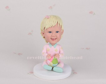 Baby Gift, Funny Baby Gift, Best Baby gift, custom bobblehead gift for baby, personalized gift for baby